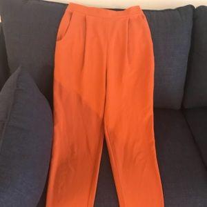 American apparel crepe trousers